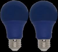 LED BLUE A19