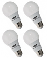 Damar LED 9 Watt A19 | 40 Watt Equal | Cool White | 4000K| 4-pack