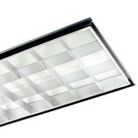 2x4 interior fixture - 18 cell parabolic - 2 lamp - F32T8 - 120-277v
