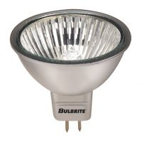 Bulbrite-638221-20 watt-Silver finish-GU5.3 base-36 degree-Halogen MR16 10 Pack