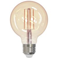 LED 5 Watt G25 | Antique Filament | Dimmable | Incandescent Glow | 2200K