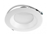 LED Commercial Can Light | 8 inch | Retrofit Kit | Multi-Watt | 3000K - 5000K