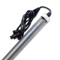 LED - 6 foot v-cooler - 22 watt - clear - 4000 kelvin - 120v - 270 degree 2640 lumen - exceptional life