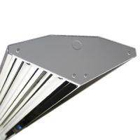 diamond high bay - 4 lamp - F54 - 120-277v - aluminum - reflector - includes v-hooks