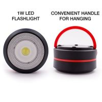 GoodBulb LED Outdoor Compact Solar Lantern w/ Rechargeable USB Power Bank (Red)