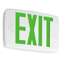 Goodbulb LED Exit Sign - Green