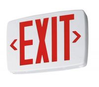 Goodbulb LED Exit Sign - Red
