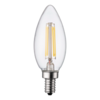 TCP LED 40 Watt Equal B11 Dimmable Warm White 2200K 120V