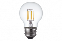 TCP Filament LED 4 Watt G16 | 40 Watt Equal | Dimmable | Soft White | 2700K | Clear