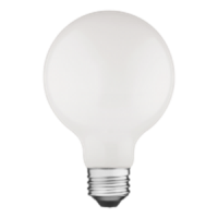 TCP Filament LED 4.5 Watt G25 | 60 Watt Equal | Dimmable | Soft White | 2700K | Frost
